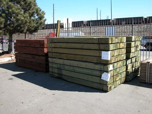 ACQ Landscape Timbers
