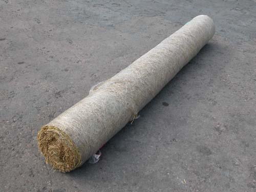 Straw Blanket Erosion Control
